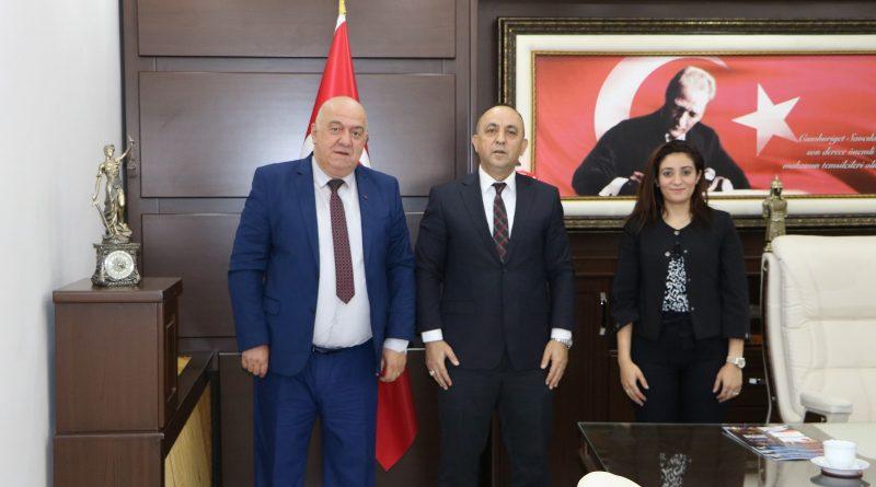 Nova Medya Grup, Osmaniye Cumhuriyet Başsavcımız Ahmet TEKNE Beyefendiyi makamında ziyaret etti.